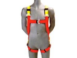 Schematic of safety harness