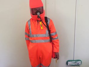 Confined SpaceTraining - Protective Outfit