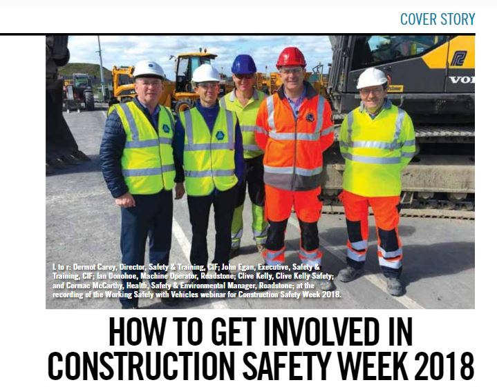 Construction Safety Week – Clive Kelly Safety